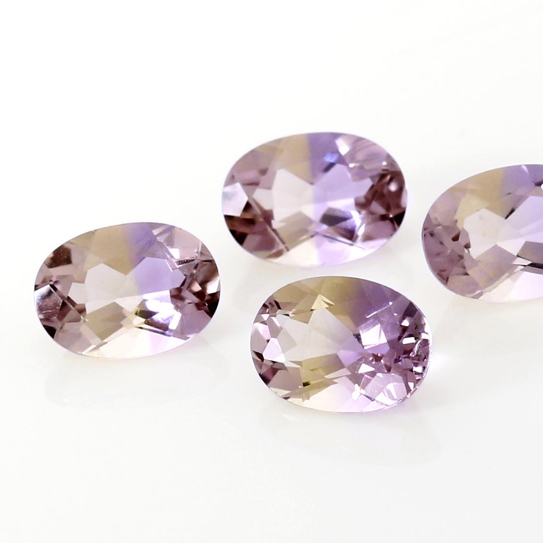 アメトリン(ボリビア産)×ダイヤモンドK18ピアス・ブリジット