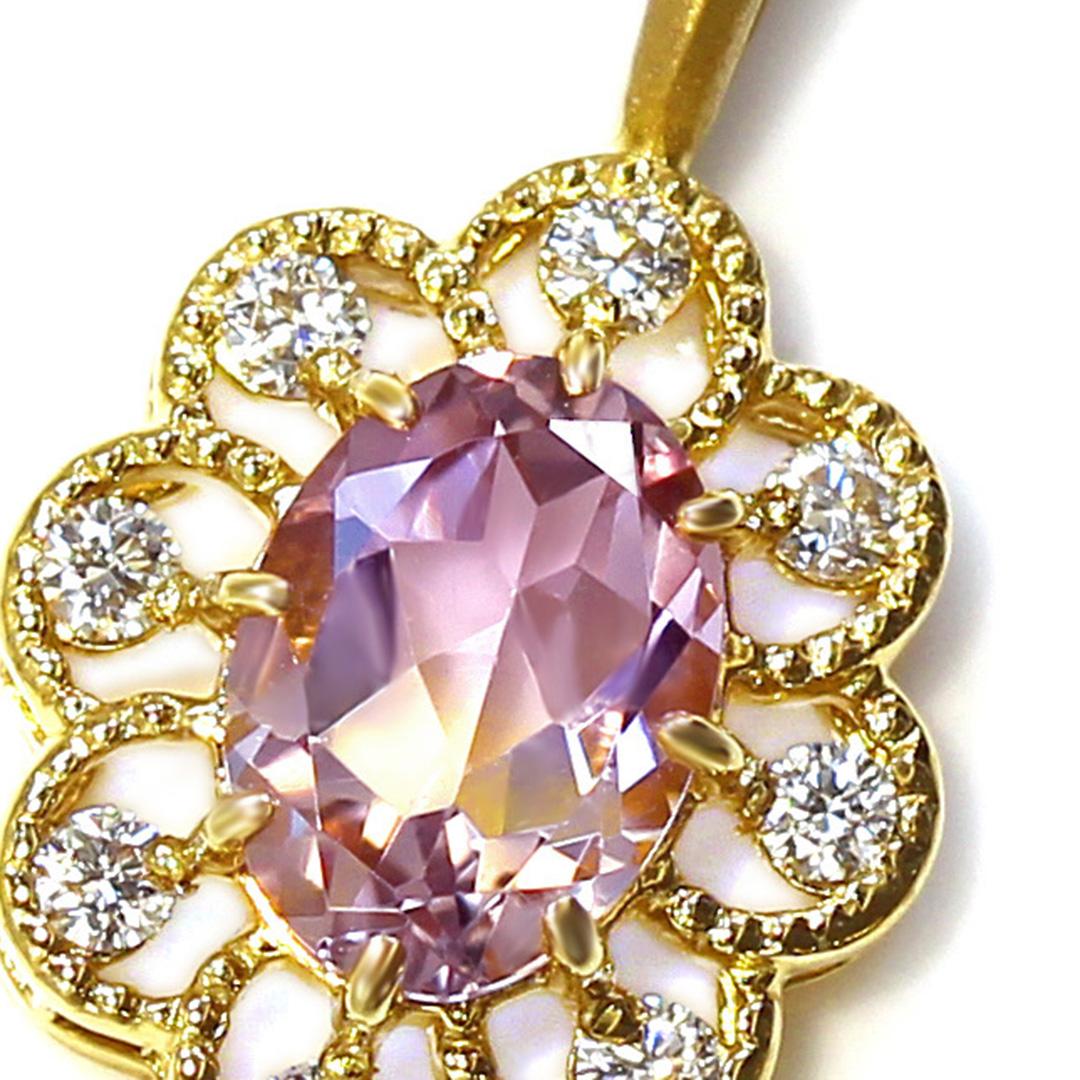 アメトリン(ボリビア産)×ダイヤモンドK18ペンダントトップ・フーラ