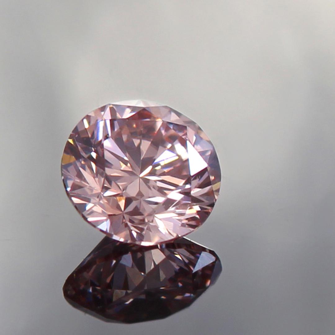 ピンクダイヤモンド(アーガイル産)×ダイヤモンド K18/PTリング・フランシーネ