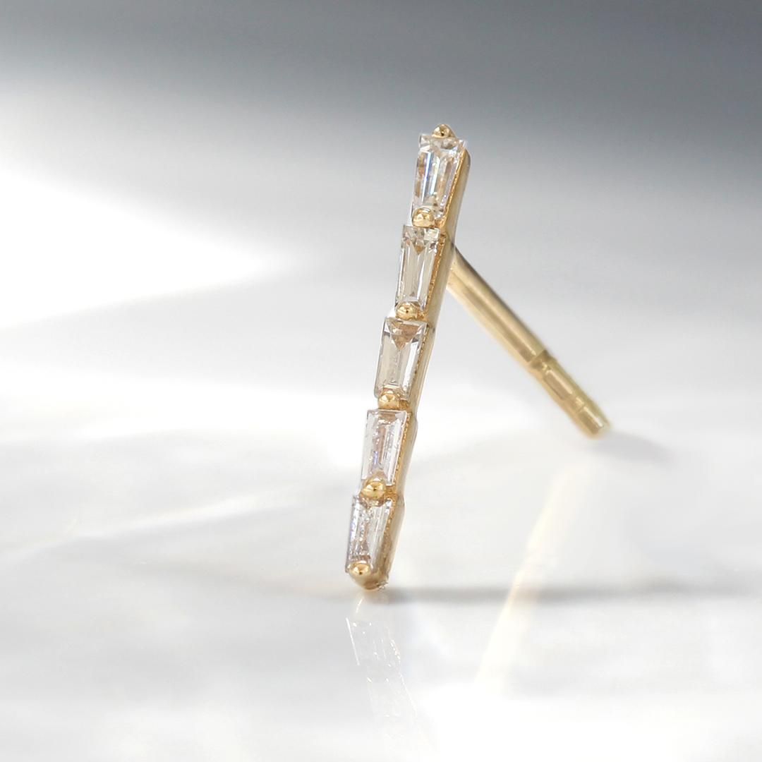 ダイヤモンド(SIクラス) K18ピアス・セリア