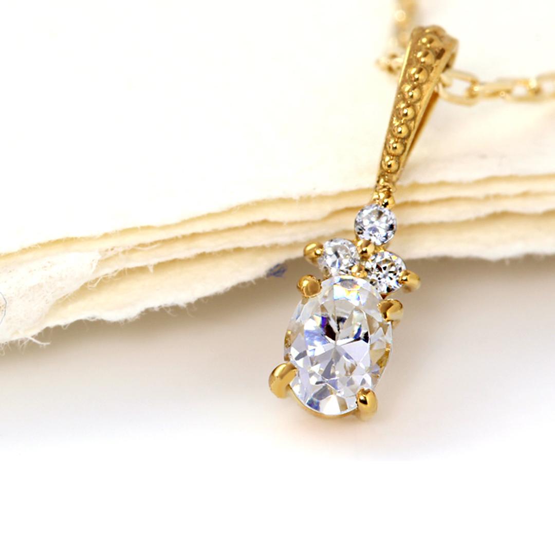 ダイヤモンド(SIクラス)×ダイヤモンド K18ペンダントトップ・フラヴィ