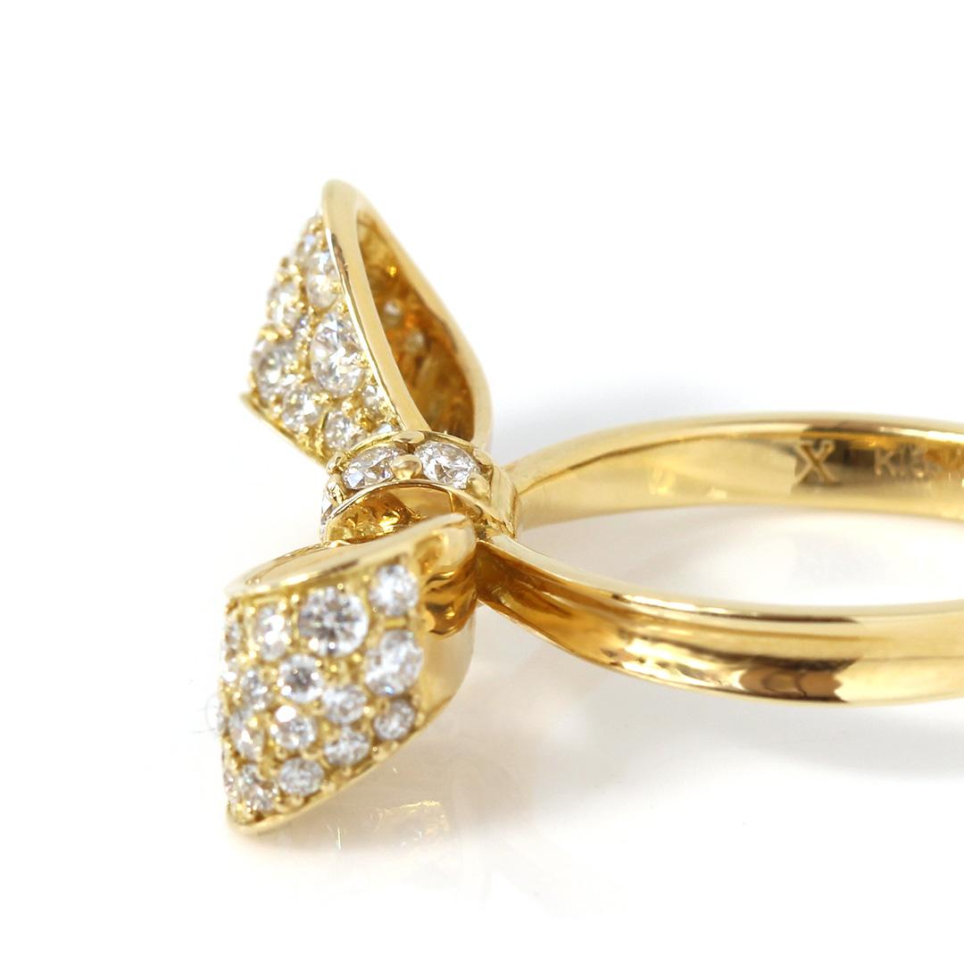 ダイヤモンド(SIクラス) K18/PTリング・リュバン