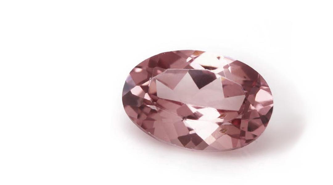 シャンパンガーネット(タンザニア産)×ダイヤモンド K18/PTピアス・フラヴィ