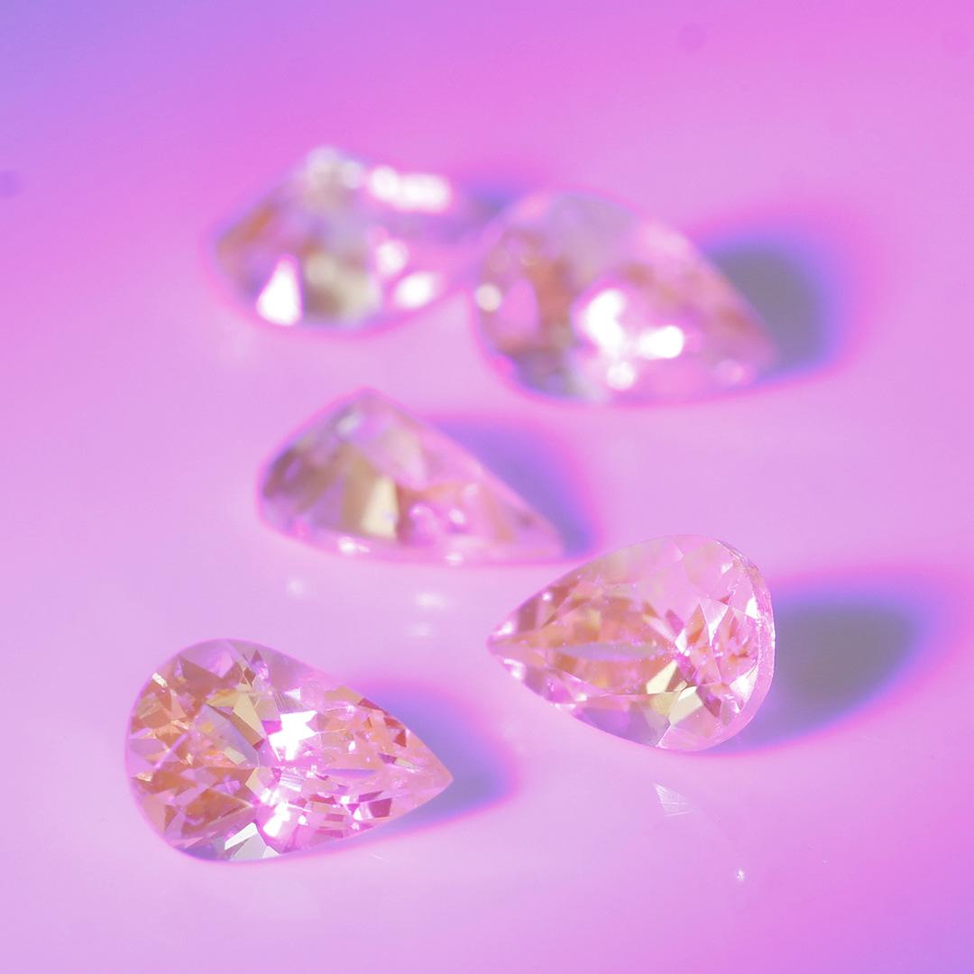 ミントガーネット×ダイヤモンド K18リング・フランシーネ