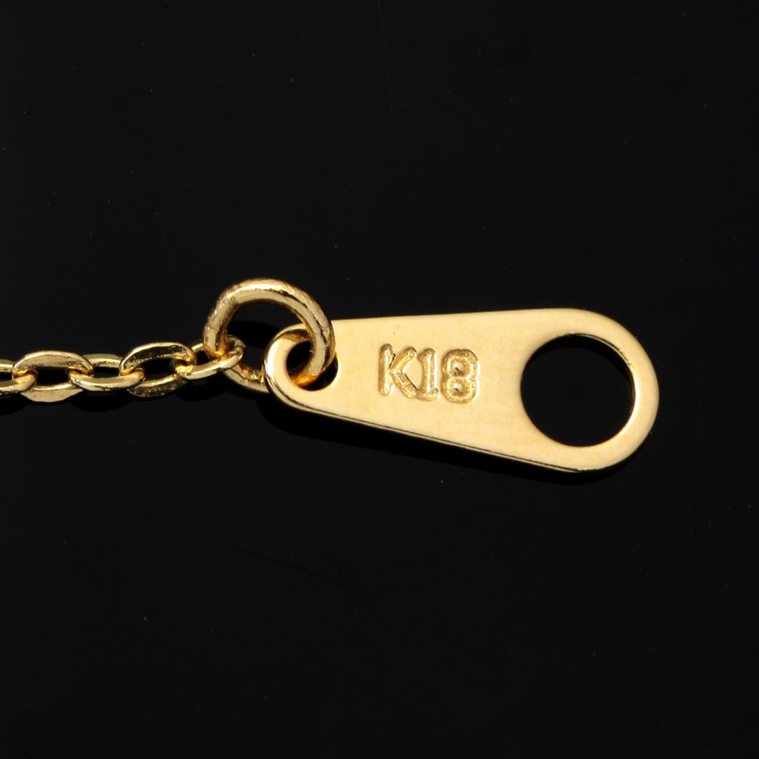 K18/K10ネックレス・レスポワール(ヴイ)