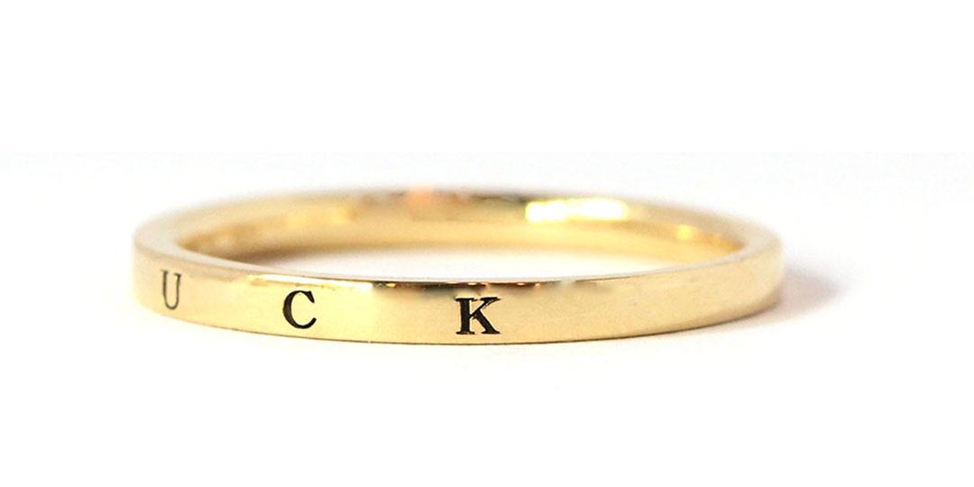 K18リング・ラック