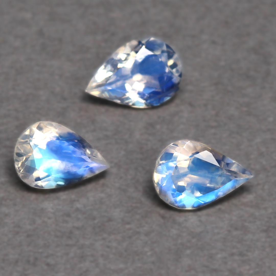 ロイヤルブルームーンストーン×ダイヤモンド K18/PTリング・ディアーヌ