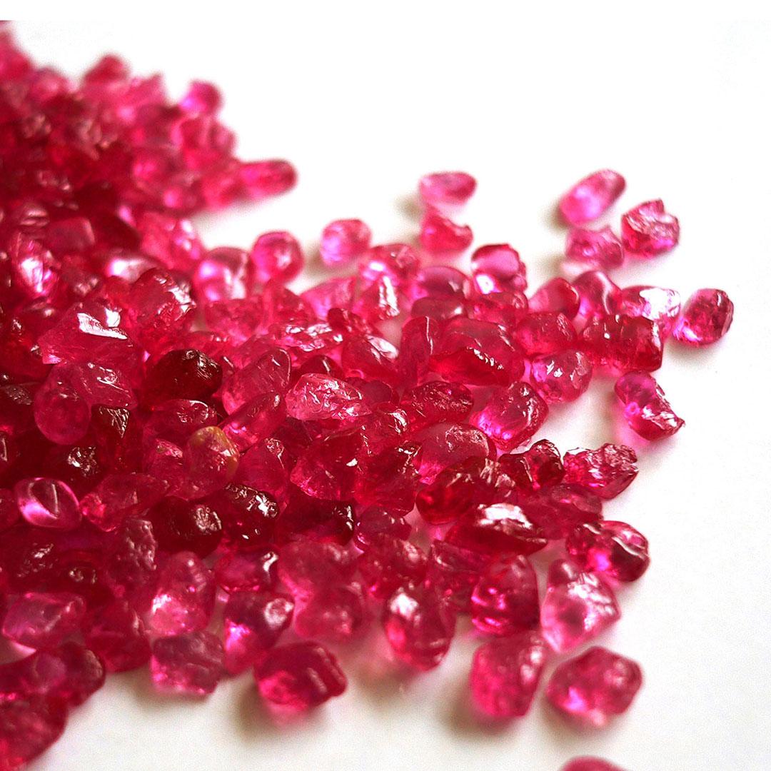 ルビー(ミャンマー産)×ダイヤモンド K18PTピアス・フラヴィ