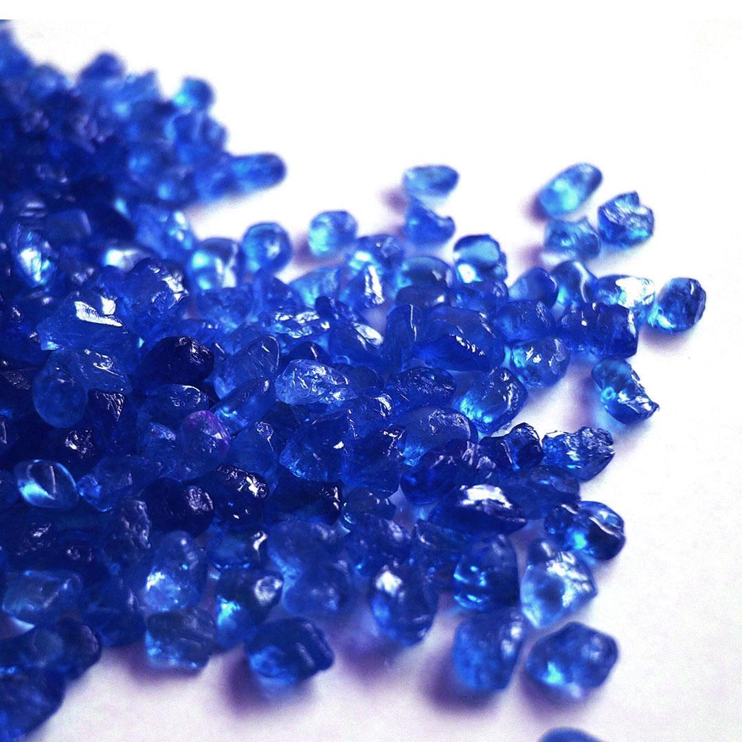 ブルーサファイア(マダガスカル産)×ダイヤモンド K18/PTペンダントトップ・フラヴィ