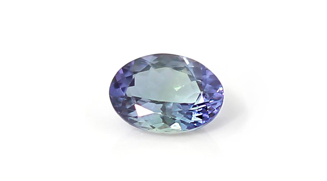 タンザナイト×ダイヤモンド K18/PTリング・ピアス